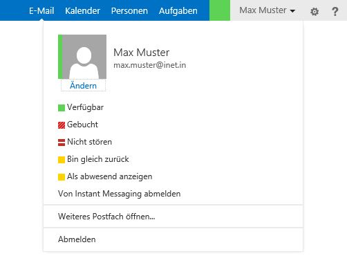 Outlook Web App Profilbild ändern