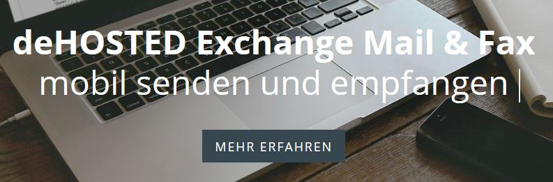 deHOSTED Exchange Mail & Fax