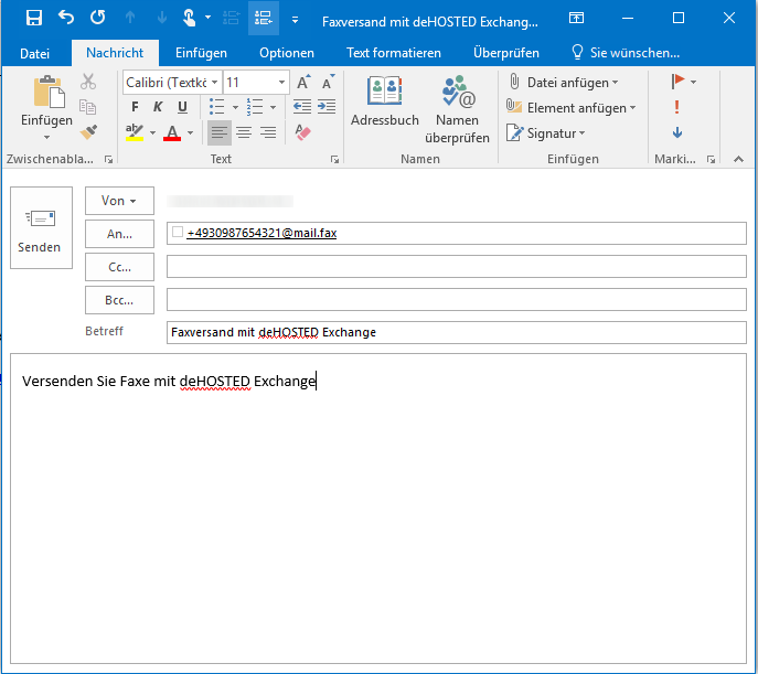 how to add a fax mailbox in outlook 2010