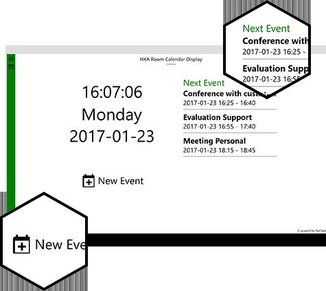 NetTask - HXA Room Calendar Display